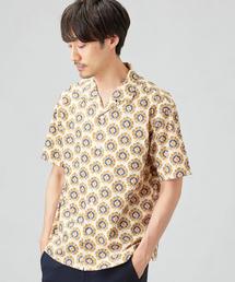 CM リバティ オープンカラー 半袖 / シャツ