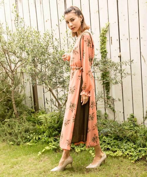 日本最大級 Millionサイドスリットプリーツロングワンピース(ワンピース)|MILLION CARATS(ミリオンカラッツ)のファッション通販, サワラチョウ:cce3b277 --- 5613dcaibao.eu.org