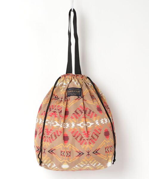 【 PENDLETON / ペンドルトン 】 プリントドローバッグ 巾着 PRINT DROW TOTE