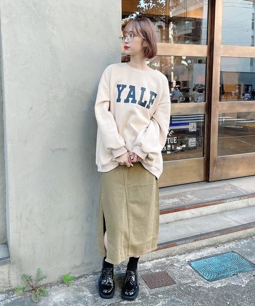 【Voyage titty&Co.】サイドスリットミリタリースカート