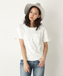 MOUSSY | SIMPLE U/N TEE J(Tシャツ・カットソー)