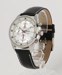 SEIKO セイコー クロノグラフ レザーバンド クォーツ 腕時計 SNDC87P2 SNDC89P2(腕時計)