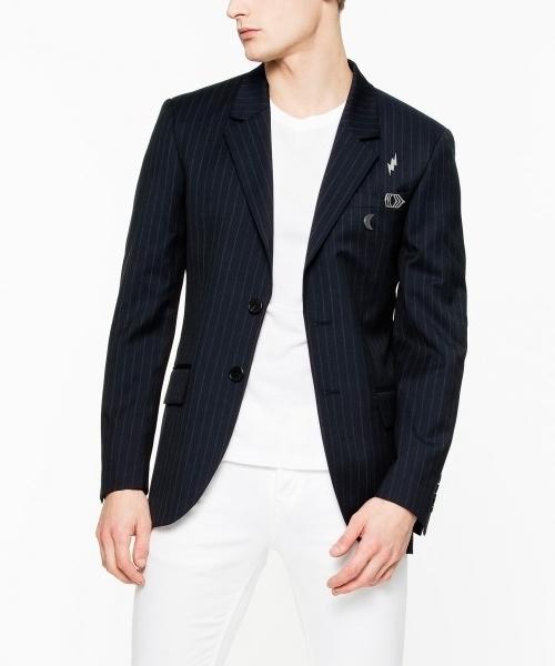 専門店では 【セール】VERNON STRIPE(テーラードジャケット)|ZADIG&VOLTAIRE(ザディグ エ エ ヴォルテール)のファッション通販, 【革ee】:7d02ea58 --- wm2018-infos.de
