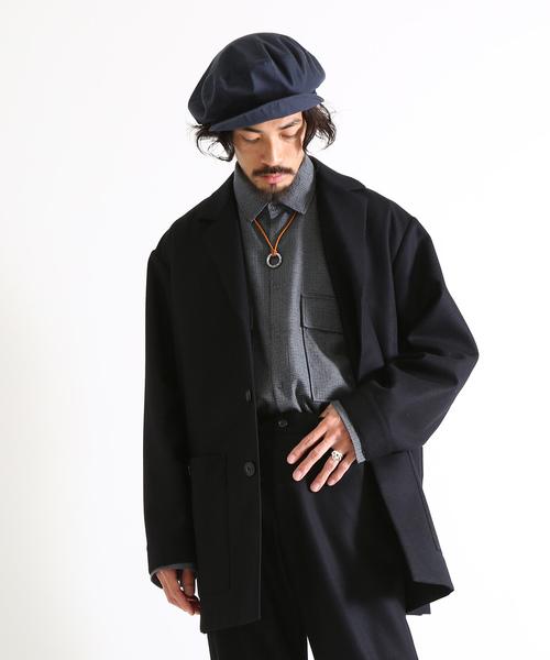『1年保証』 marka wool/ マーカ: -【予約】WORK JACKET JACKET - wool flannel -:M19C-03JK01C[COR](テーラードジャケット)|marka(マーカ)のファッション通販, 檜枝岐村:43aa9f1a --- svarogday.com