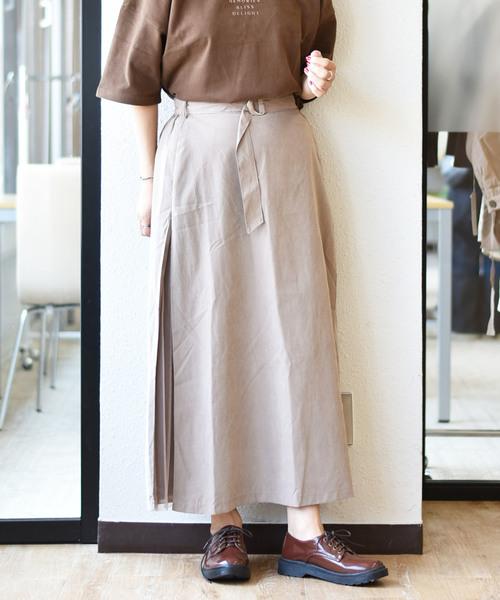 サイドチュールナロースカート