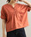 ViS(ビス)の「【Silky smooth touch】【前後2WAY】袖ねじれプルオーバー(Tシャツ/カットソー)」|レッド系その他4