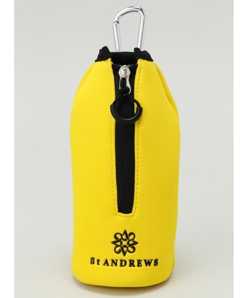 【St ANDREWS】ネオプレーン保冷ペットボトルホルダー (UNISEX)