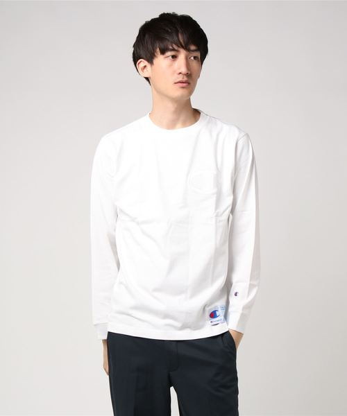 Champion チャンピオン LONG SLEEVE T-SHIRT ロングスリーブTシャツ