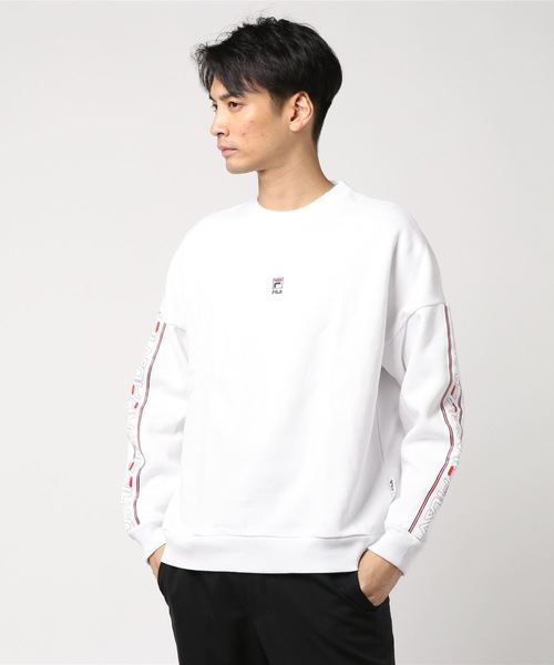 FILA Crew neck (WHITE)