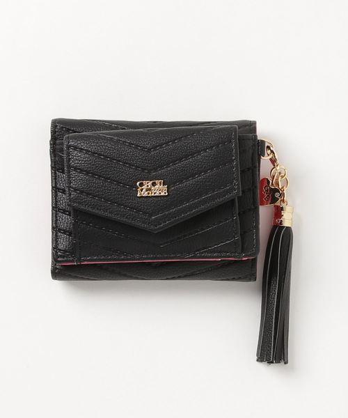 【CECIL McBEE/セシルマクビー】タッセル付きレター型ミニ財布