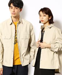 Purple&Yellow(パープルアンドイエロー)のワイドシャツ(シャツ/ブラウス)