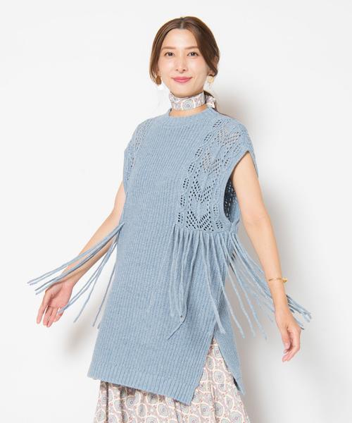 安いそれに目立つ Pany fringe fringe knit// ペニーフリンジニット(ニット knit/セーター) LAYMEE(レイミー)のファッション通販, sneezy:d2640b00 --- pyme.pe