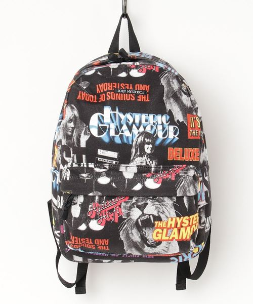 HYSTERIC ROCK柄 DAY PACK