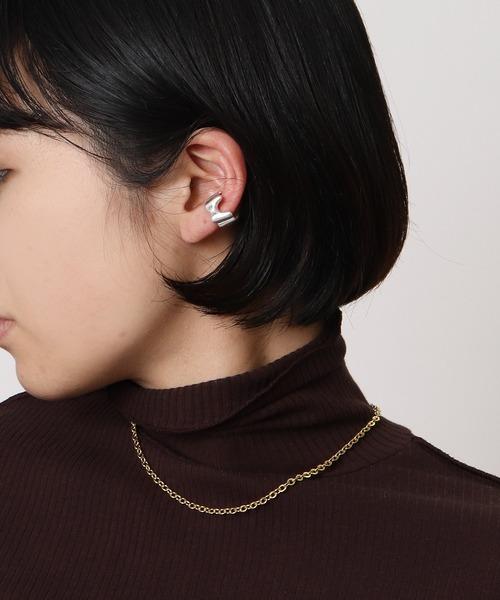 Wave ear cuff・・