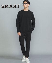 【WEB限定 WARDROBE SMART】by ストレッチジャージ イージー ジョガーパンツ