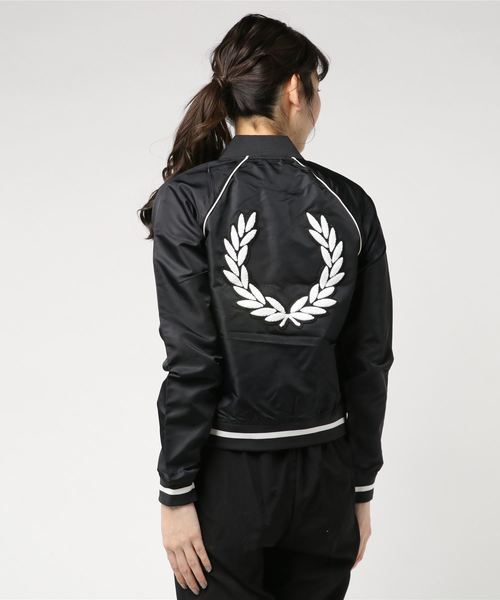 Amy Winehouse Embroidered 50'S Bomber