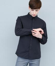 EMMA CLOTHES(エマクローズ)のストレッチオックスボタンダウンL/Sシャツ(シャツ/ブラウス)
