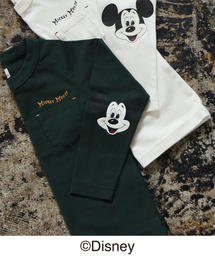 Disney(ディズニー)の【coen キッズ / ジュニア】コーエン限定Disney(ディズニー)MICKEY(ミッキー)ロングTシャツ(ロンT)(Tシャツ/カットソー)