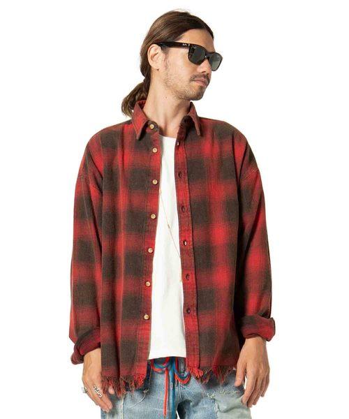 【500円引きクーポン】 Burner/ check SH/ check バーナーチェックシャツ(シャツ/ブラウス) SH glamb(グラム)のファッション通販, ナニワク:7df1bbb7 --- svarogday.com