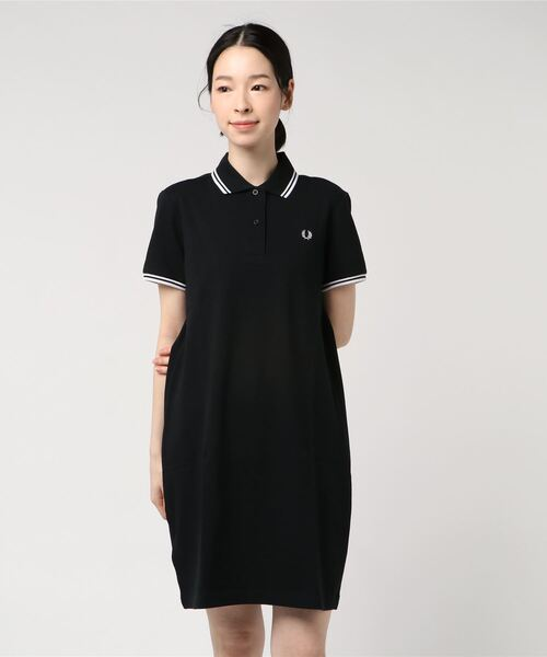 Twin Tipped Pique Dress