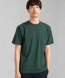 別注 [ヘインズ] Hanes SC BEEFY GLR ポケットTシャツ / ポケT