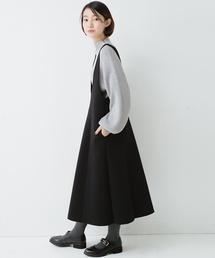 ジャンパースカートファッション...
