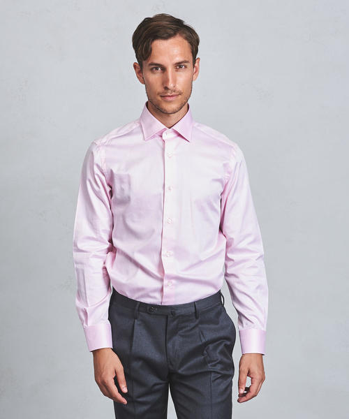 UADT カラー ツイル シャツ ◆