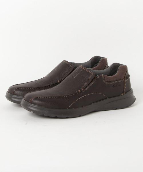 いいスタイル Cotrell Step/ コントレルステップ (ブラウンオイリーレザー)(スリッポン) Step|Clarks(クラークス)のファッション通販, 新冠町:fe9133ca --- pyme.pe