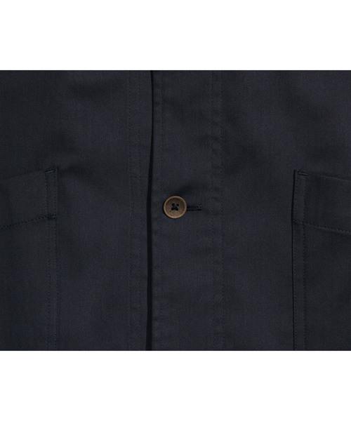 Herringbone long shirt ヘリンボン ロングシャツ