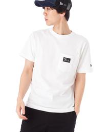 NEW ERA(ニューエラ)のオンスポッツ別注 ニューエラ Tシャツ ポケット BLACK PATCH NEW ERA(Tシャツ/カットソー)