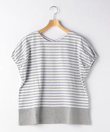 <A DAY IN THE LIFE>バイカラー ボーダー Tシャツ