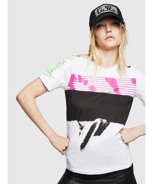 【超特価SALE開催!】 レディース DIESEL グラフィック 半袖 グラフィック 半袖 Tシャツ(Tシャツ/カットソー)|DIESEL(ディーゼル)のファッション通販, TRICOT by yamasan fujiya:f7ea356c --- hundefreunde-eilbek.de