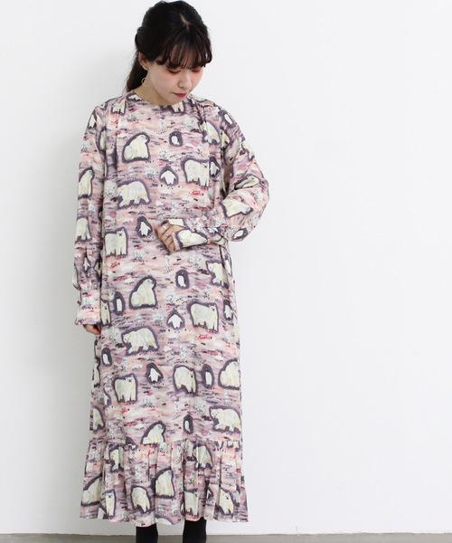 2019高い素材  eiπe de 「シロクマとペンギン」 ティアードワンピース(ワンピース) eiπe charme,シャンブル eiπe,イーペ,chambre (イーペ)のファッション通販, かねき質店:07a4911a --- blog.buypower.ng