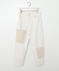エアロン AERON / ナチュラル ツートーンポケット パンツ