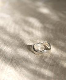 YArKA(ヤーカ)の【YArKA/ヤーカ】silver925 plane wave ring[uto2]/プレーンウェーブリング(リング)
