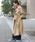 Social GIRL(ソーシャルガール)の「袖コンシャスキャンディースリーブケープトレンチスプリングコート(トレンチコート)」 詳細画像