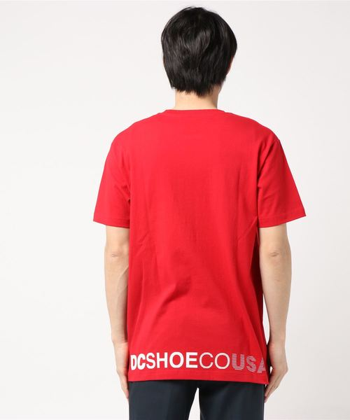 DC SHOES 19 STAR SS (RED)