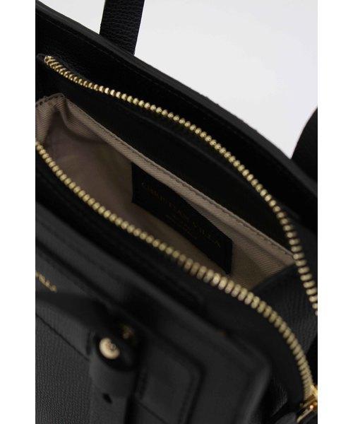CHRISTIAN VILLA(クリスチャンヴィラ) /CRUMB Square bag(ミニキューブレザーバッグ)
