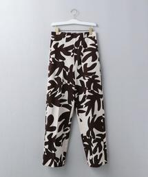 <6(ROKU)>LEAF PRINT PANTS/パンツ