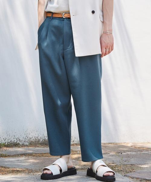 ルーズシルエットイージースラックスEMMA CLOTHES 2021SS