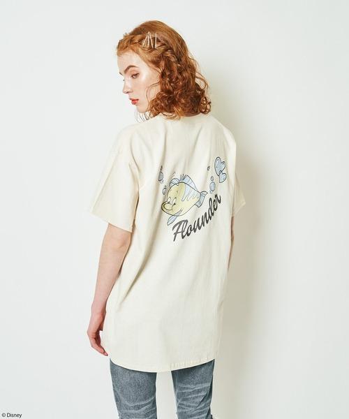 【Disney/ディズニー/リトル・マーメイド/フランダー】Tシャツ