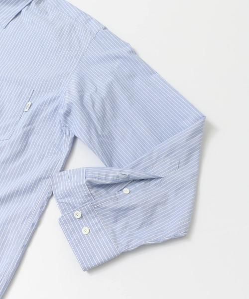 イージーフィットストライプシャツ