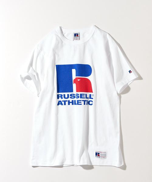 【Russell ATHLETIC/ ラッセルアスレティック】プリントTee