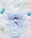 northerly(ノーザリー)の「【northerly(ノーザリー)】 グラマラスフラワーブラジャー&ショーツセット(ブラ&ショーツ)」|サックスブルー