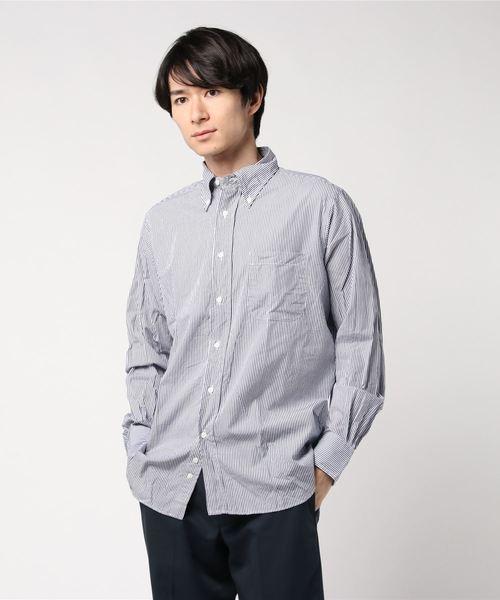 バーゲンで 【Individualized Shirts】クラシックBDシャツ STRIPE MEN(シャツ/ブラウス) Bshop|INDIVIDUALIZED STRIPE SHIRTS(インディビジュアライズドシャツ)のファッション通販, 自由が丘ange passe:aebc44f1 --- rise-of-the-knights.de