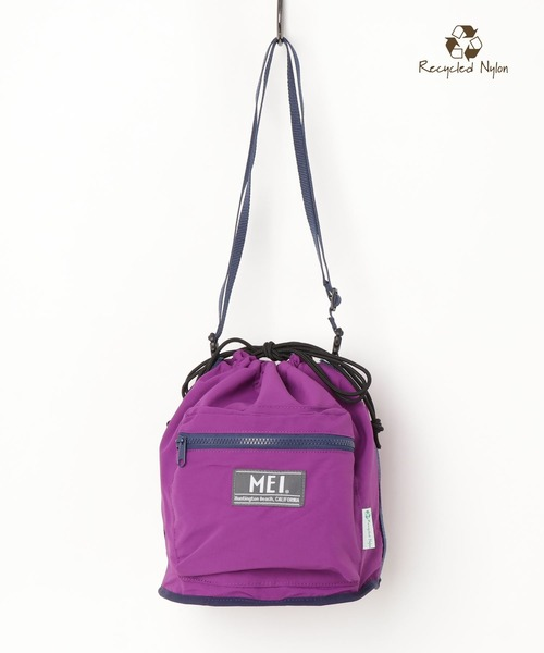 【 MEI / メイ 】TASLAN DRAW BAG タスランドローバッグ