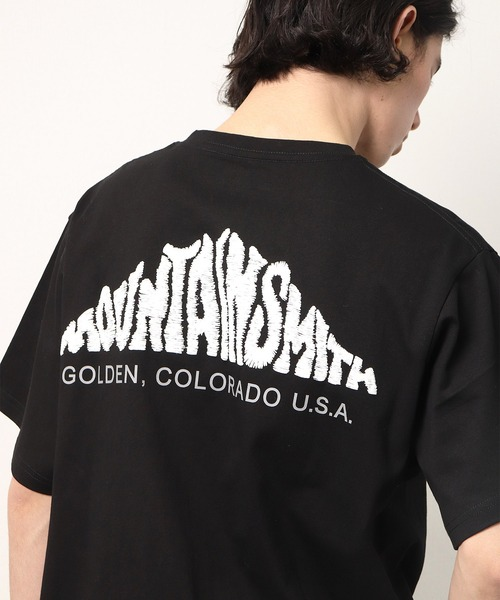 【 MOUNTAIN SMITH / マウンテンスミス 】2020SS EMBRO バックプリント Tシャツ