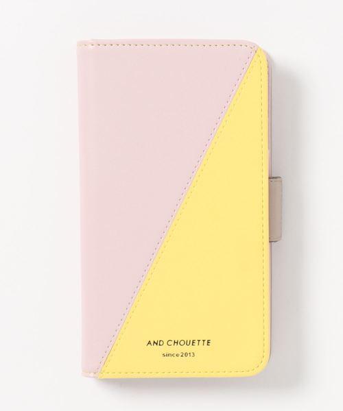 カラーパレット手帳型iPhone11ケース