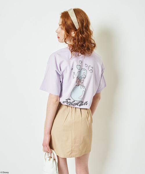 【Disney/ディズニー/リトル・マーメイド/セバスチャン】Tシャツ