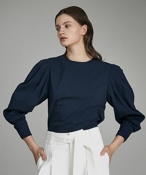 【UNSPOKEN】Lantern sleeve blouse UQ21S041